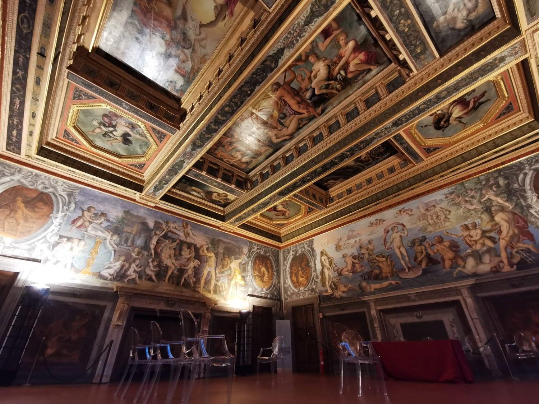 Uma das salas do Palazzo Vecchio, onde decorreu o segundo dia do evento. Fonte: PMG
