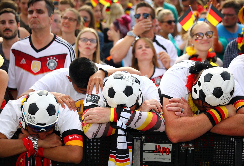 Um jogo duro para a seleção alemã contra a sul coreana /Hannibal Hanschke - Reuters