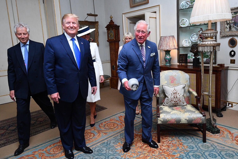 Visitaram a residência real em Londres, Clarence House /Victoria Jones - Reuters