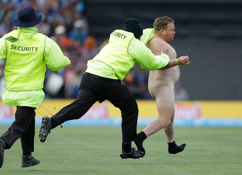 Mundial de Cricket entre a Nova Zelândia e o Sri Lanka em 2015 /Anthony Phelps - Reuters