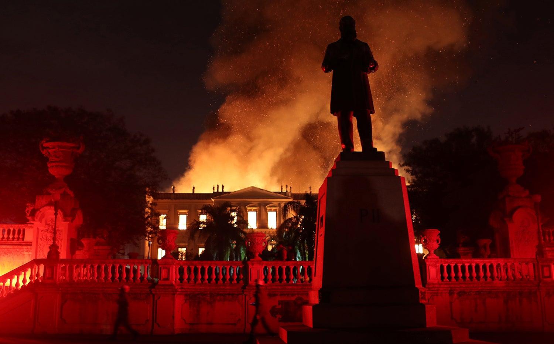 Incêndio no Museu Nacional do Brasil /Ricardo Moraes - Reuters