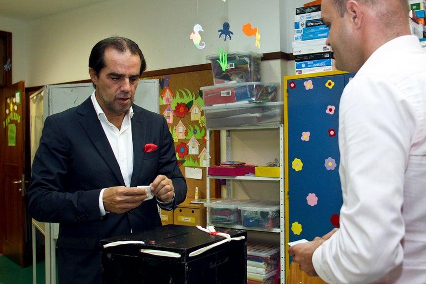 Miguel Albuquerque, presidente do Governo regional da Madeira.