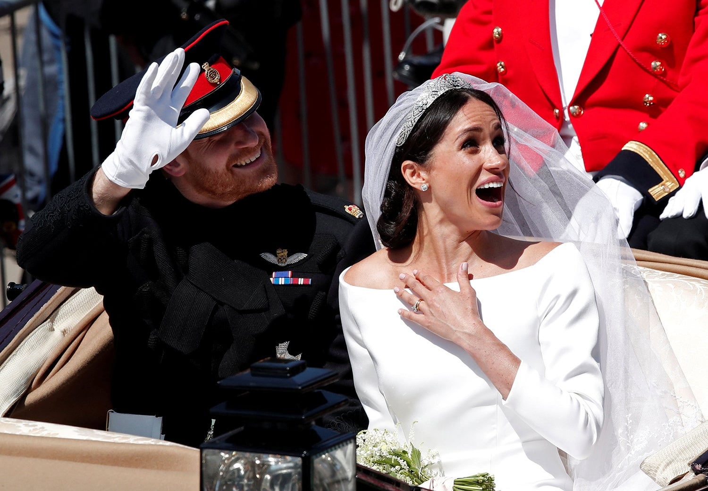 Casamento do príncipe Harry com Meghan Markle/Benoit Tessier - Reuters