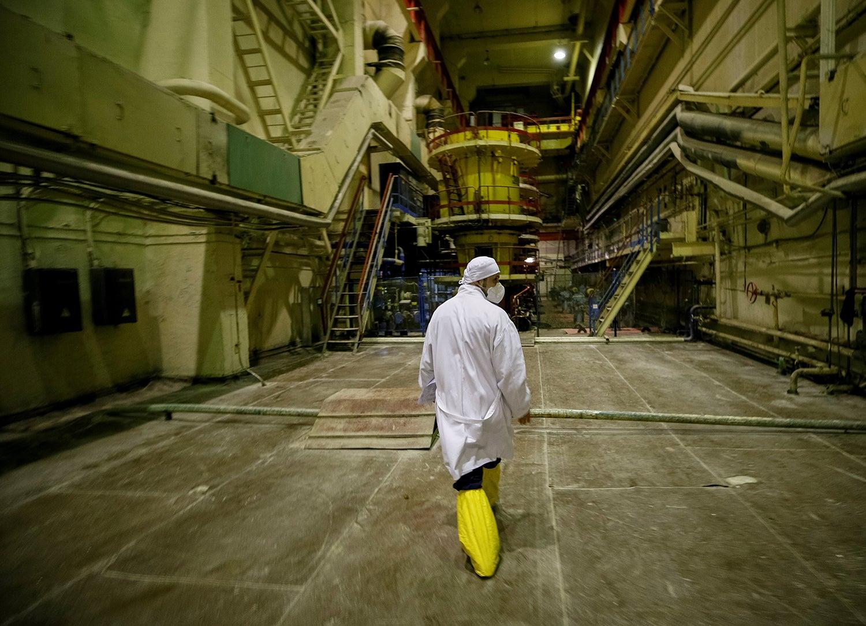 Sala da bomba de refrigeração/ Gleb Garanich - Reuters
