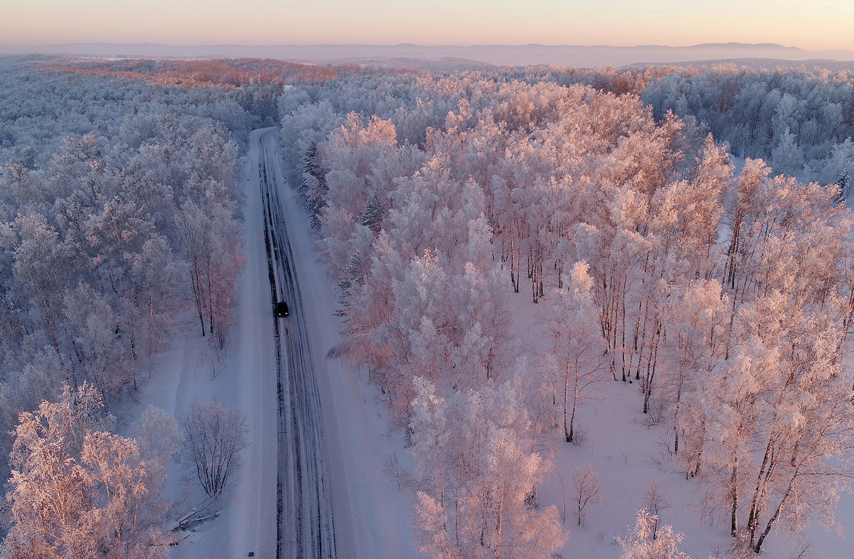 Paisagem na Sibéria /Ilya Naymushin - Reuters