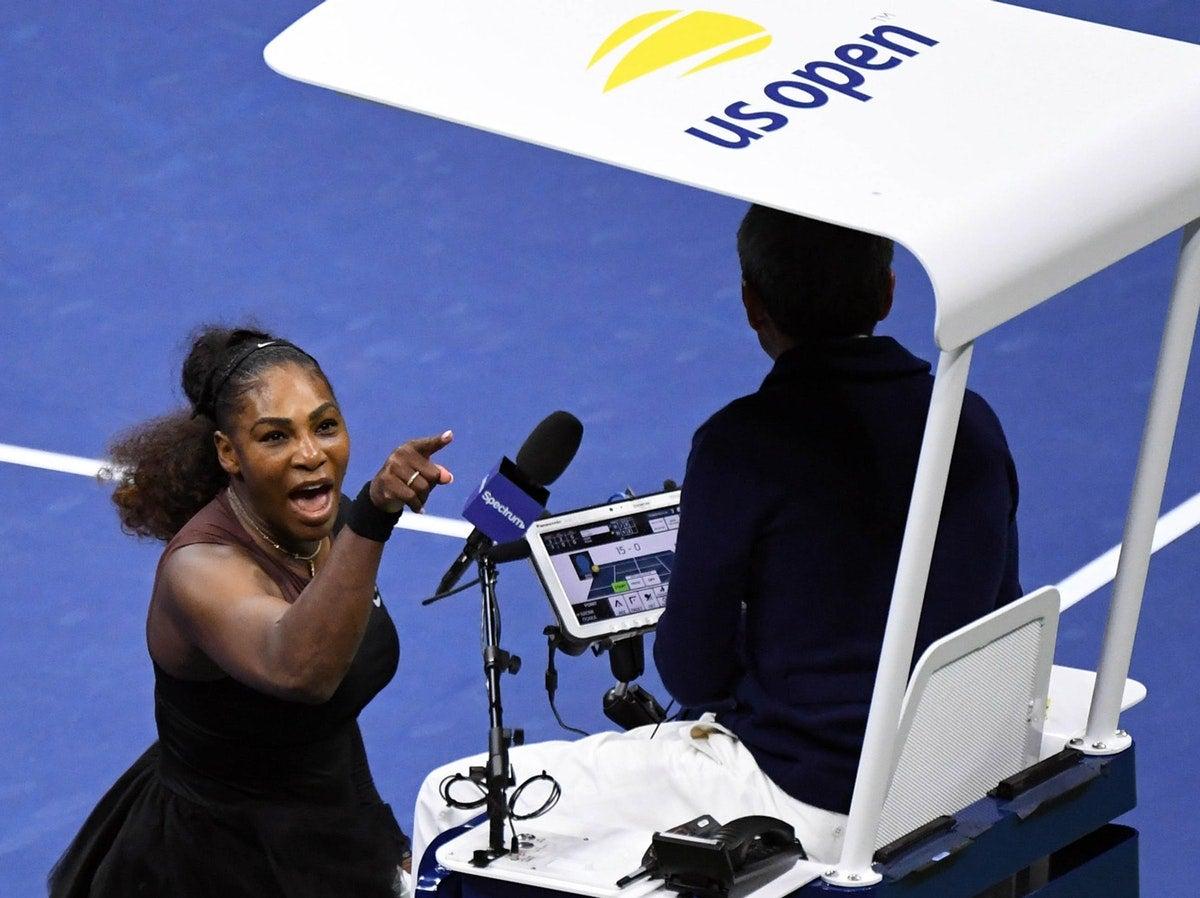 Serena Williams perde a cabeça e grita com árbitro português /USA Today Sports - Reuters