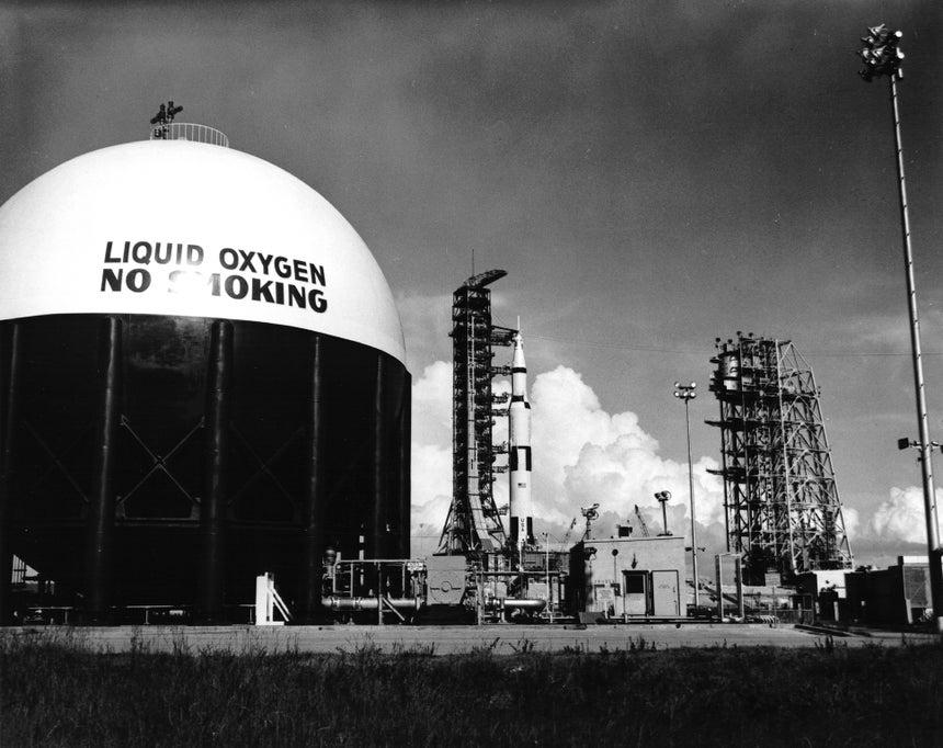 Créditos fotográficos: NASA History Office and Kennedy Space Center.