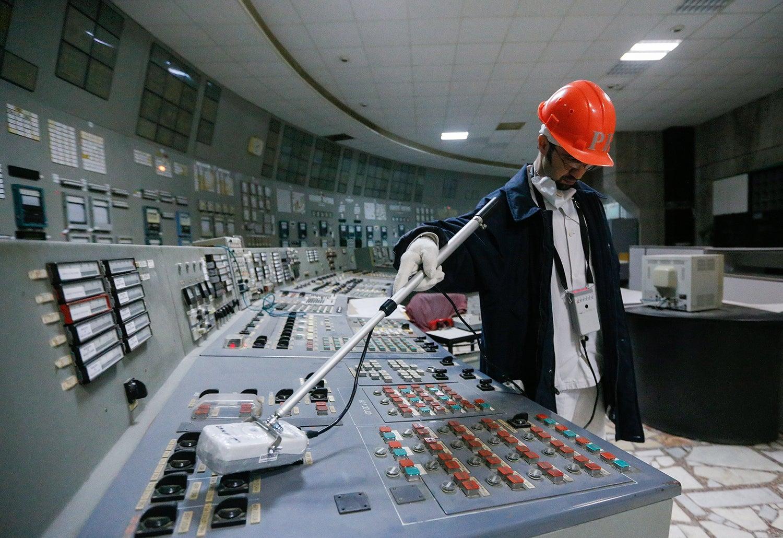Medição dos níveis de radiação/ Sergey Dolzhenko - EPA