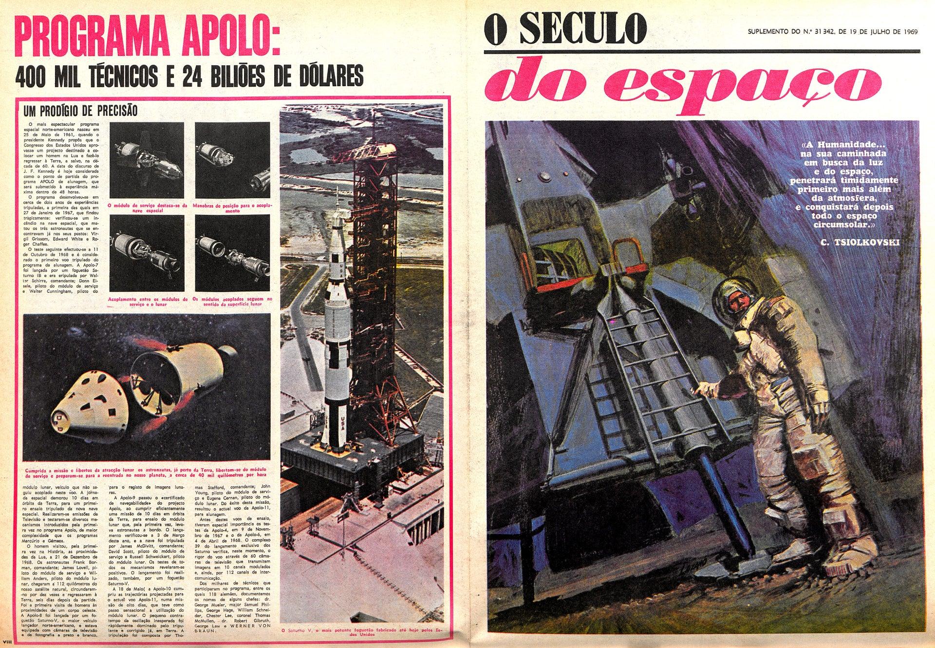 "Jornal ""O Século"" - Complemento (19 julho 1969)"