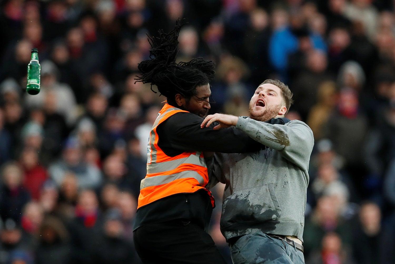 No jogo entre Newcastle United e Crystal Palace em Londres - 2018 / David Klein - Reuters