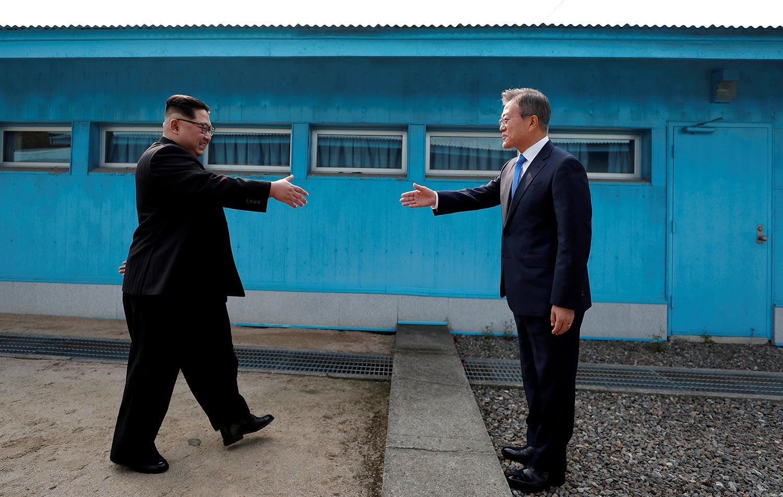 Encontro entre coreias /Reuters
