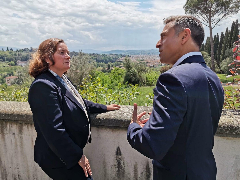 João Adelino Faria entrevistou Ana Paula Zacarias, Secretária de Estado dos Assuntos Europeus. Fonte: PMG