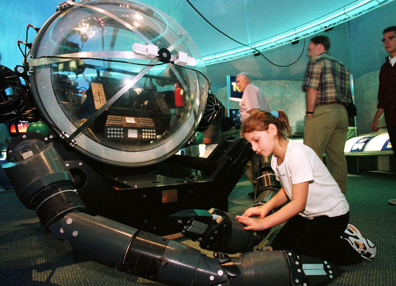 """""""Deep Rover"""" no pavilhão dos Estados Unidos /Foto: ES/EB via Reuters"""