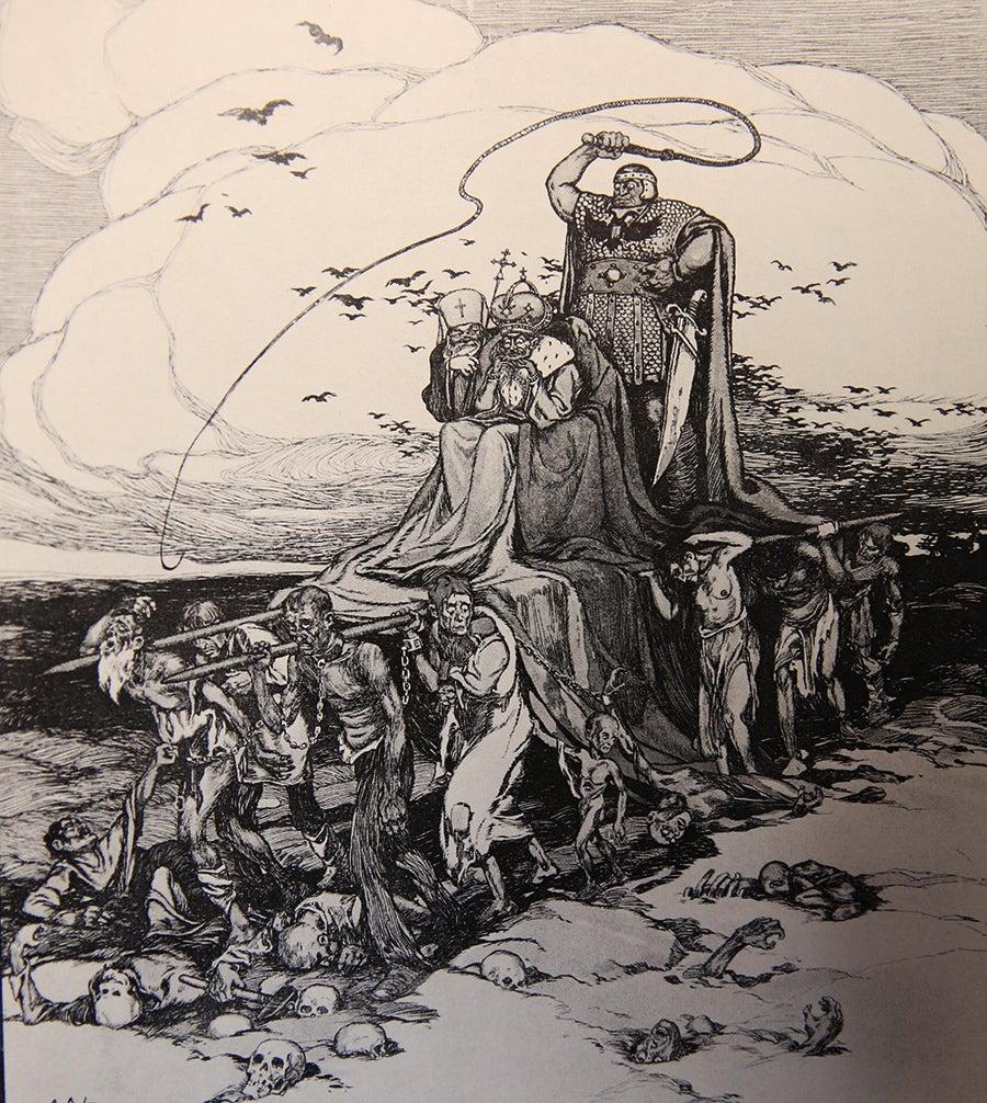 """""""Vingança contra os czares"""". Aleksej Petrow, 1918"""