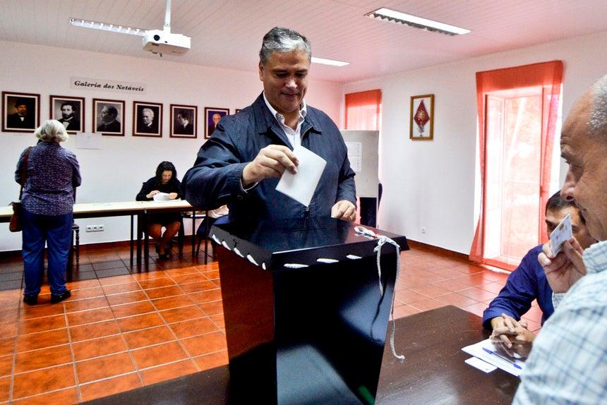 Vasco Cordeiro, presidente do Governo Regional dos Açores.