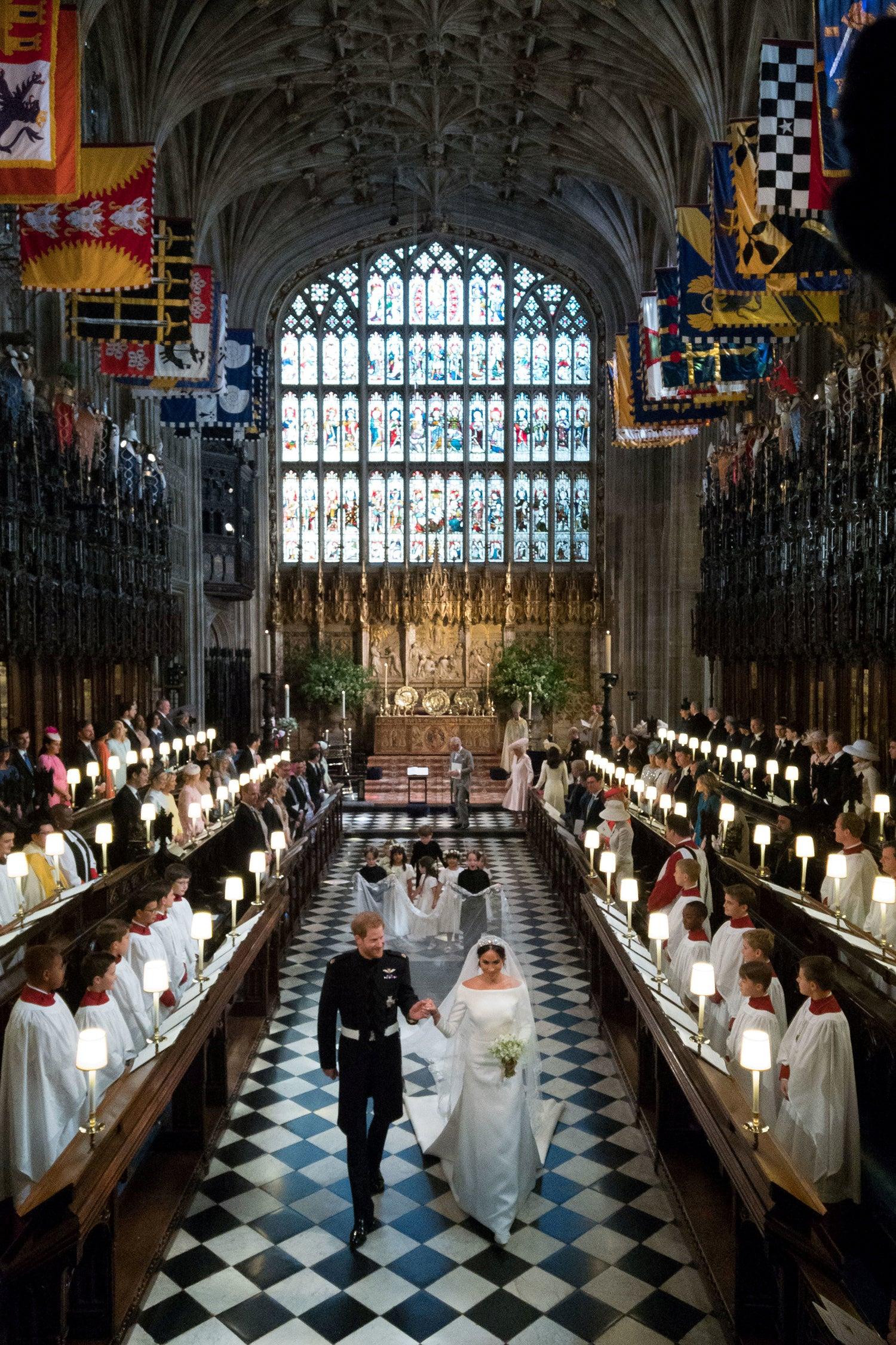 Casamento do príncipe Harry e Meghan Markle na capela de St. George /Reuters