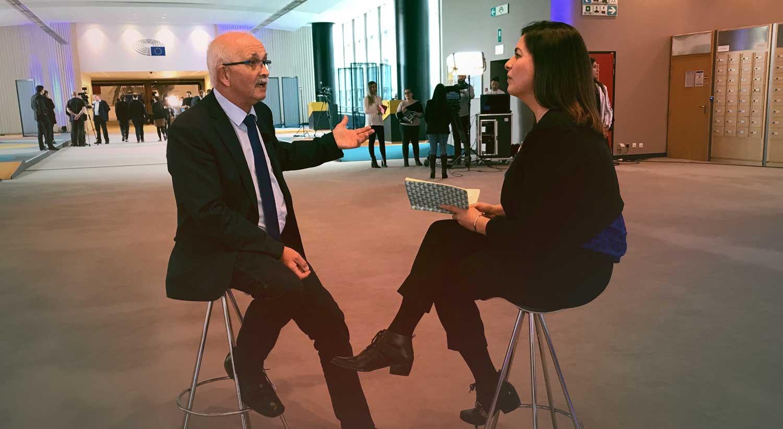 Raquel Morão Lopes entrevista Udo Bullmann, líder do grupo político dos Socialistas e Democratas no Parlamento Europeu. Conversaram sobre Brexit, as eleições europeias e o futuro da União.