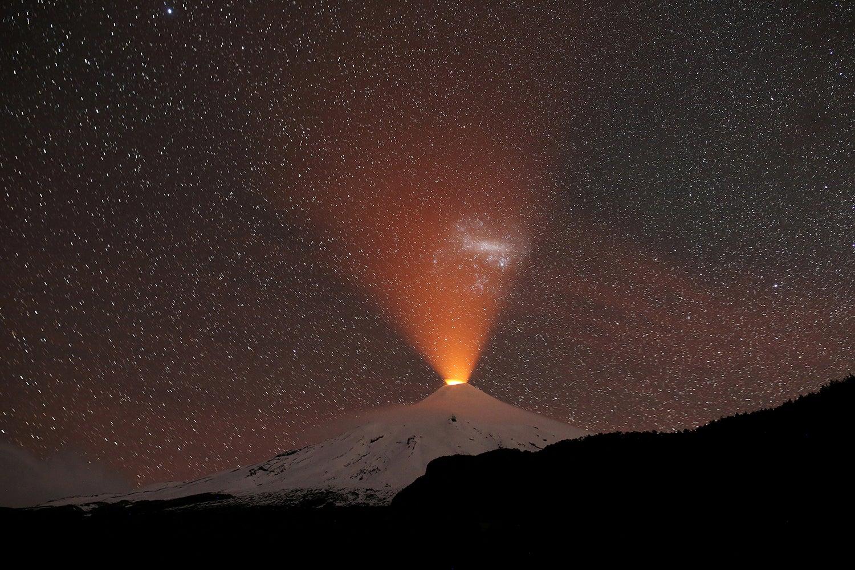 Vulcão Villarrica no Chile /Ivan Alvarado - Reuters
