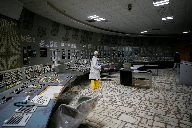 Centro de controlo do terceiro reator/ Gleb Garanich - Reuters