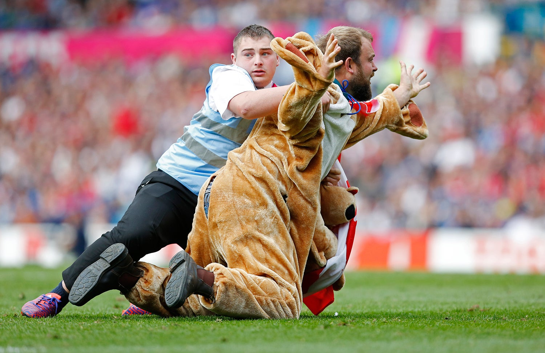 Durante o Mundial de Rugby em 2015 /Ed Sykes - Action Images via Reuters