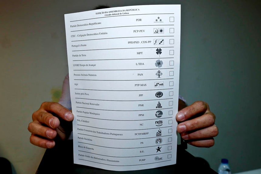 Boletim de voto