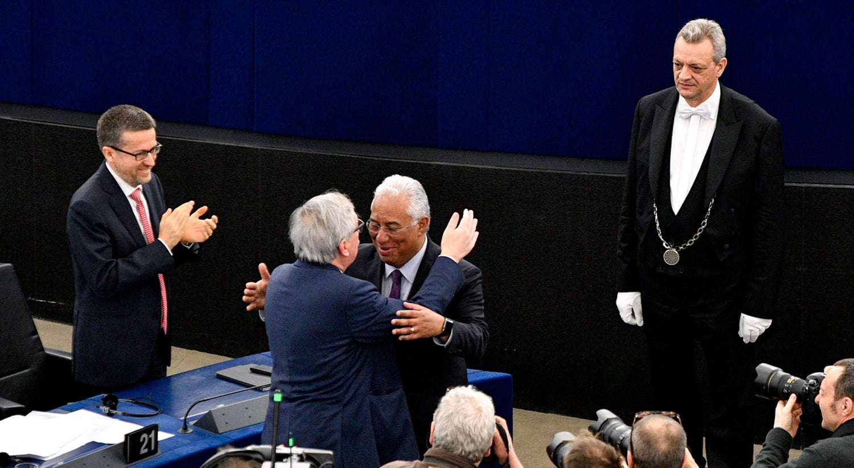 Visita oficial do Primeiro-Ministro António Costa ao Parlamento Europeu em 2018 / Fonte: Parlamento Europeu