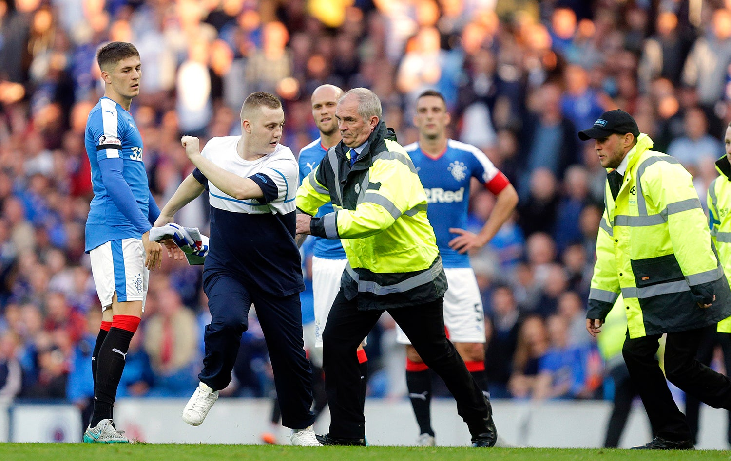 No estádio Ibrox em Glasgow - 2015 /Graham Stuart - Action Images via Reuters