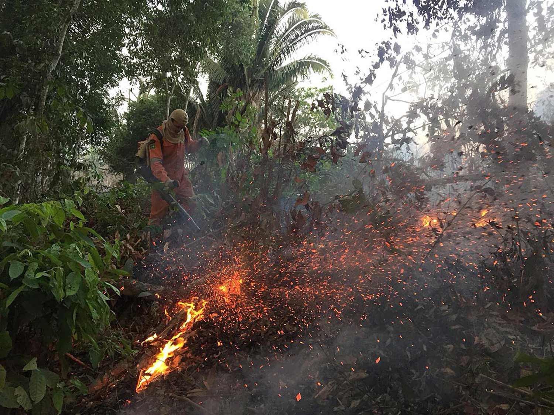 Bombeiros de Porto Velho, Rondônia /EPA