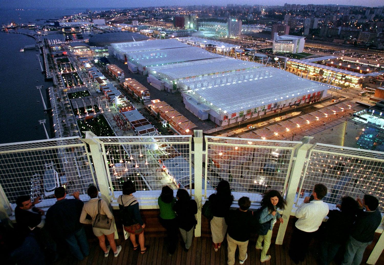 Vista do topo da Torre Vasco da Gama /Foto: Reuters