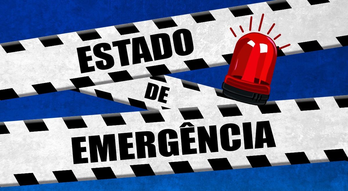 Resultado de imagem para estado de emergencia