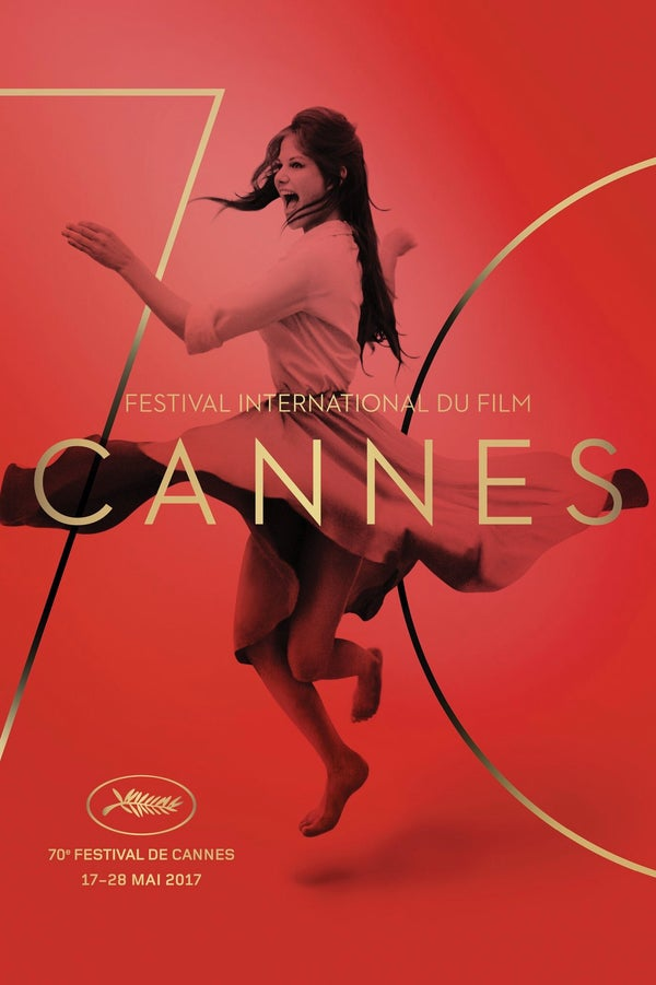 O cartaz radiante do Festival de Cannes