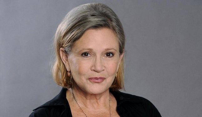 Morreu Carrie Fisher