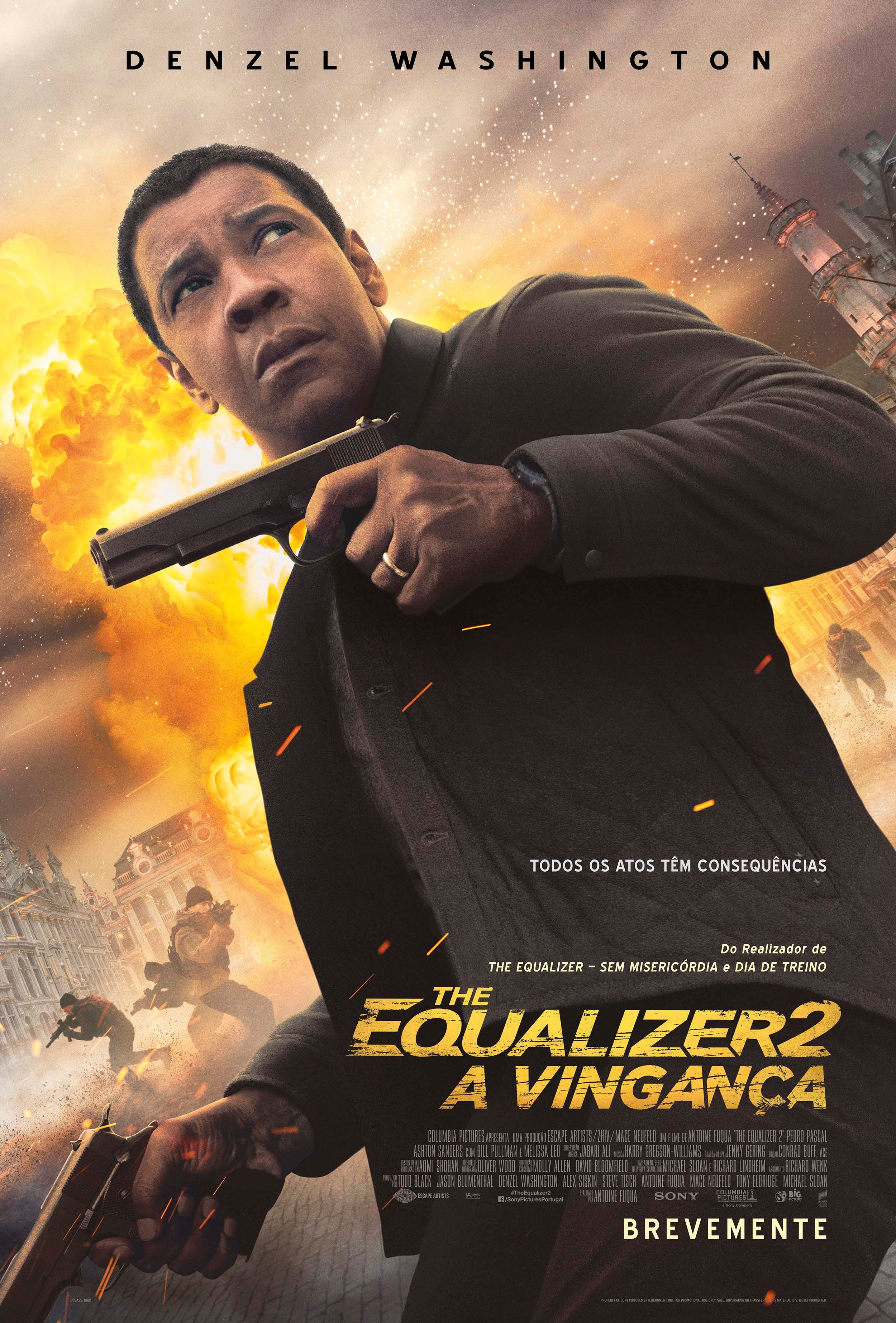 Antestreia: The Equalizer 2 - A Vingança