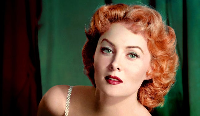 Morreu Rhonda Fleming, Rainha do Technicolor