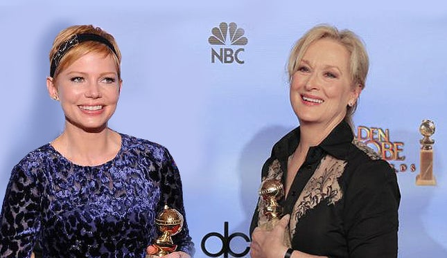Oscar atriz: Michelle Williams vs. Meryl Streep