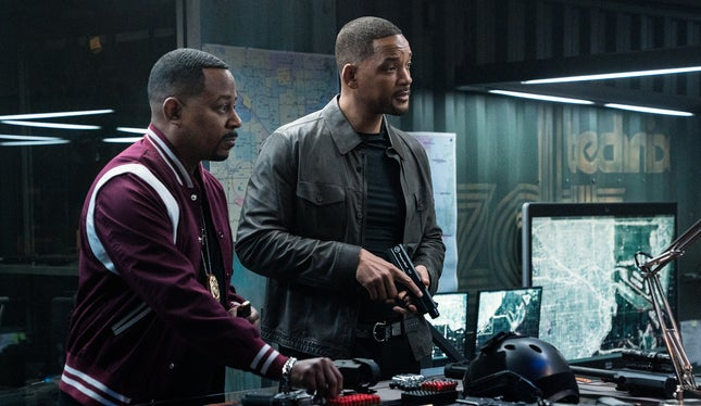 Bad Boys Para Sempre na frente do box office mundial