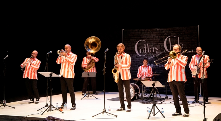 Cottas Club Jazz Band | 11 Novembro | 19h00 Cottas Club Jazz Band | 11 Novembro | 19h00