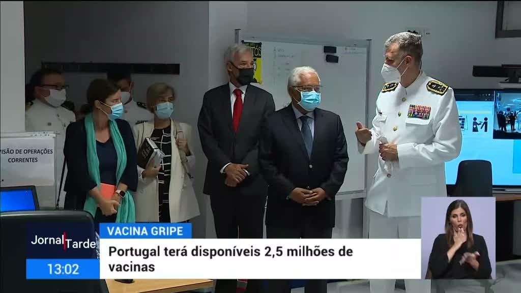 Portugal vai ter 2,5 milhões de vacinas para a gripe