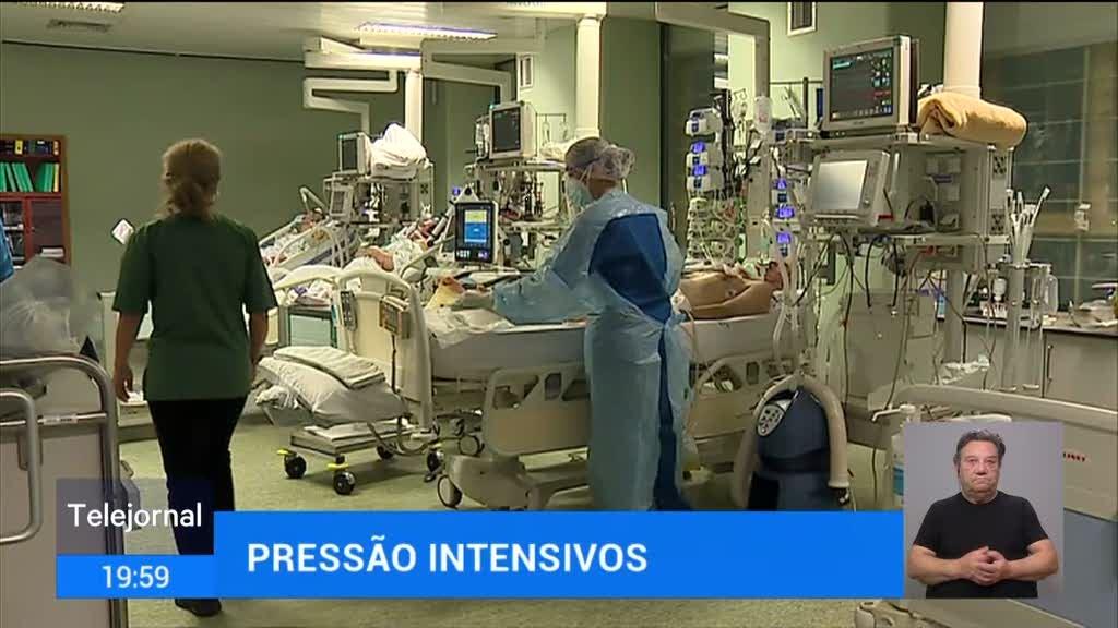 Portugal com recorde de internados Covid-19 nas camas UCI