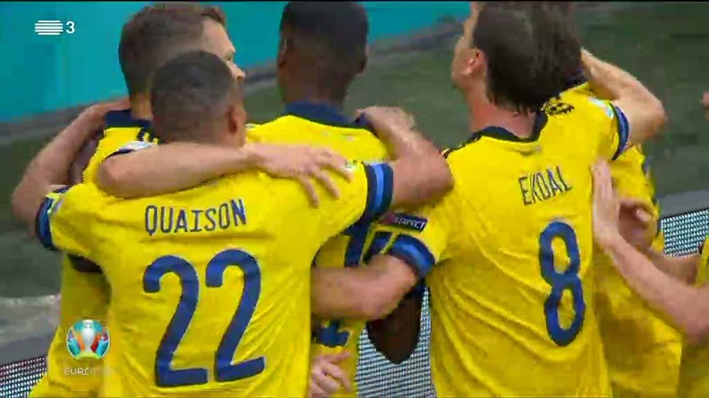 Euro2020. Suécia derrota a Eslováquia. Veja o resumo da partida