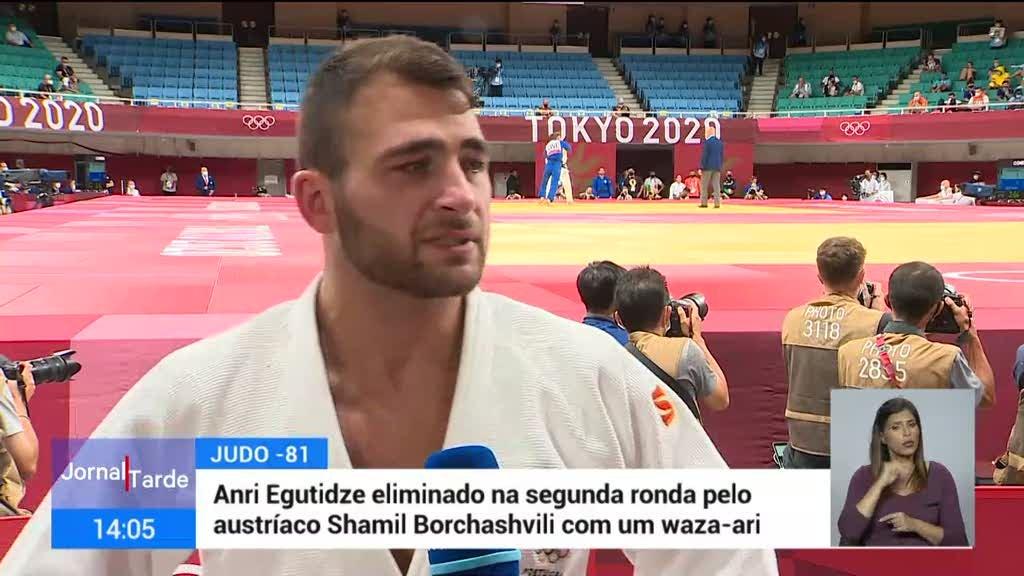 Tóquio2020. Judoca Anri Egutidze eliminado na primeira ronda