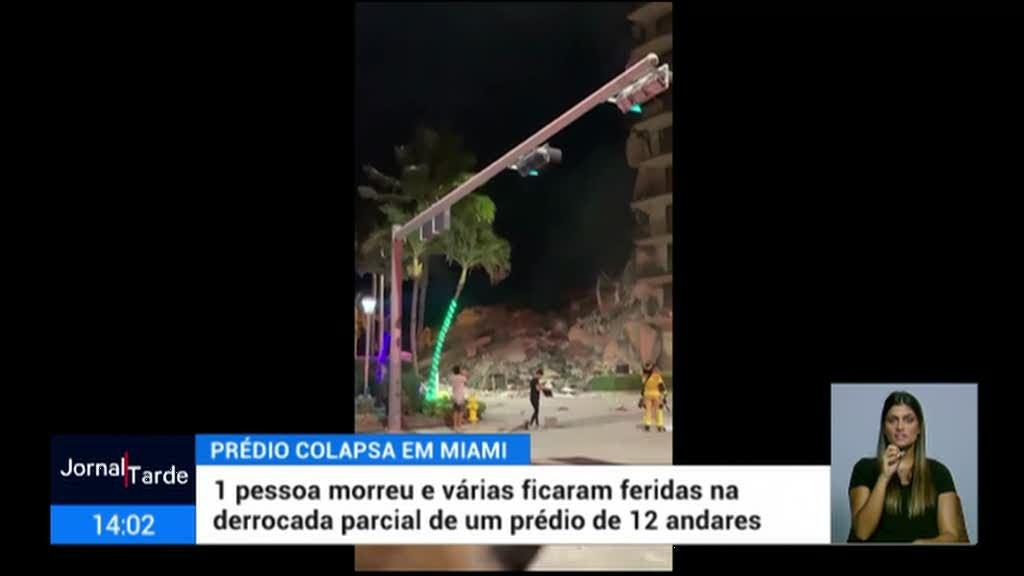 Prédio colapsa em Miami