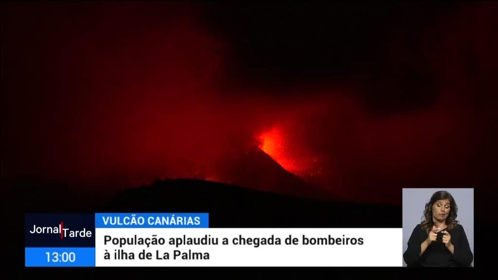 La Palma. Saíram da ilha, por via marítima, mais de mil pessoas num só navio