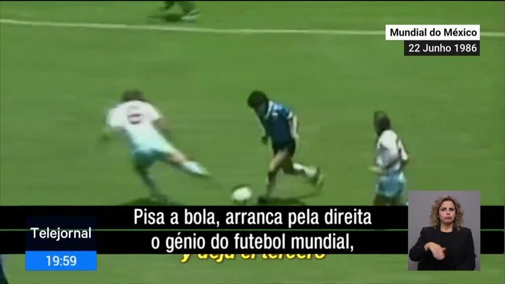 Diego Maradona e o golo do século