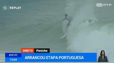Etapa portuguesa do circuito mundial de surf já arrancou