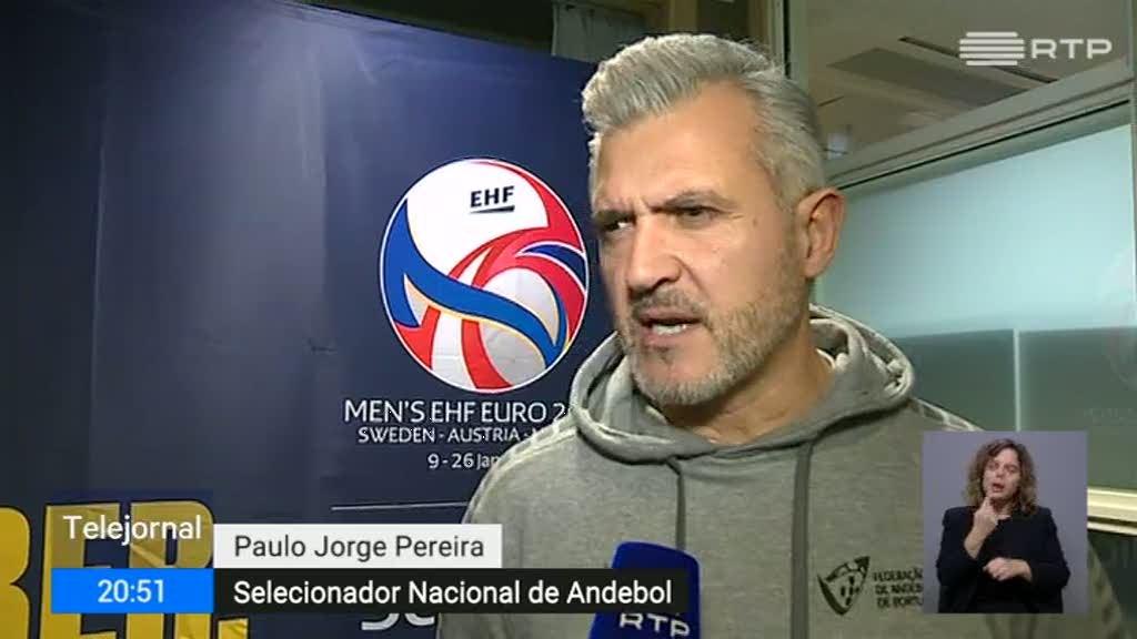 Andebol. Selecionador qualifica Europeu português de excelente
