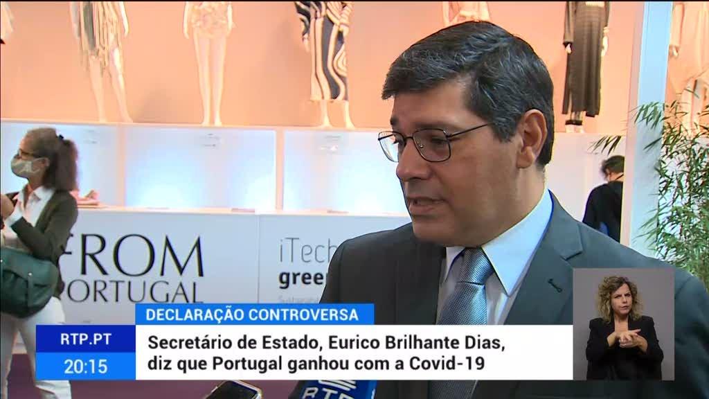 Secretário de Estado, Eurico Brilhante Dias, diz que Portugal ganhou com a Covid-19
