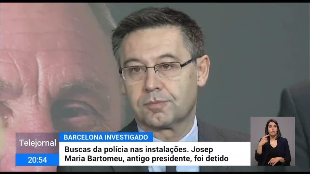 Detido o presidente demissionário do Barcelona