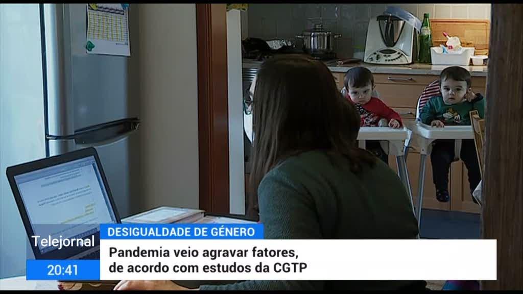 CGTP afirmou que pandemia agravou desigualdade entre mulheres e homens
