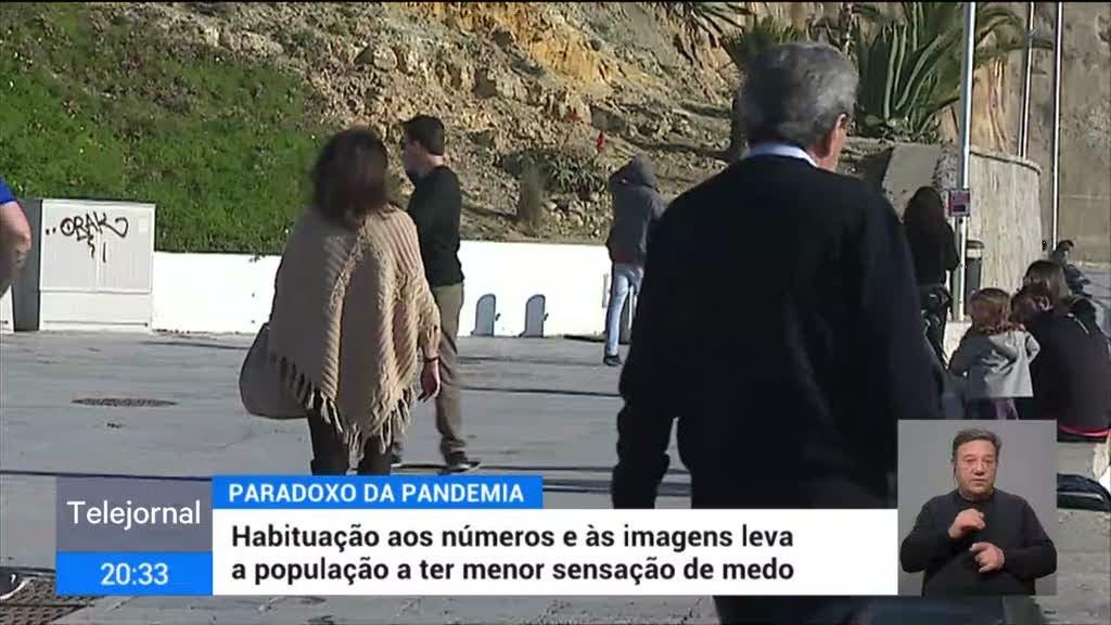 """""""Fadiga pandémica"""". Especialistas explicam infrações ao confinamento"""